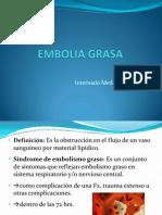 Embolia Grasa