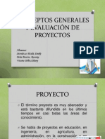 Conceptos Generales y Evaluación