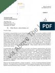 Driscoll Letter