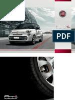 Ficha Técnica Fiat 500L