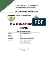 Defensa Nacional Monografia