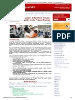 BLOG - Casos Prácticos_ Liquidación de Beneficios Sociales a Trabajadores Contratados en Una Pequeña Empresa