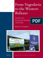 From Yugoslavia to the Western Balkans