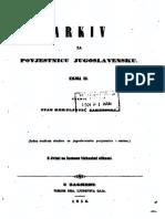 Arkiv za povjestnicu jugoslavensku - Knjiga III