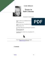 Althusser-essays in Self Criticism