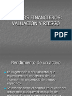 Valuacion de Activos Financieros Mc