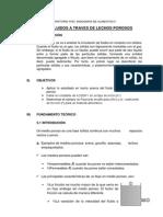 PRACTICA N°03 FLUJO DE FLUIDOS A TRAVES DE LECHOS POROSOS
