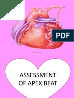 apex beat
