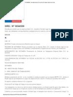 ORD._ Nº 3034_230 - Normativa Laboral. Dirección Del Trabajo. Gobierno de Chile