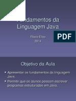 Fundamentos Da Linguagem FE-1