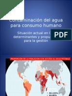 Epi de la Contaminación del agua para consumo humano