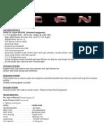 ICON Bronco Specifications
