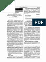 DU. 001-2014 Medidas Extraordinarias Para Estimular La Economía