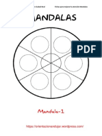 200 Mandalas Orientacionandujar Listos Para Imprimir