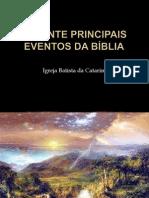 Os Vinte Principais Eventos Da Bíblia2