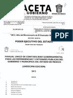 Manual Único de Contabilidad Gubernamental