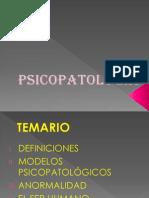 1. PSICOPATOLOGÍA CONCEPTOS