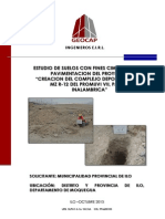 Geotechnical Model Study of Natural Soil