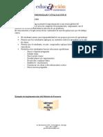 Detalles Del Curso Estrategias de Aprendizaje y Evaluacion II Metodo de Proyecto