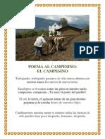 Acróstico Al Campesino 3333333 444