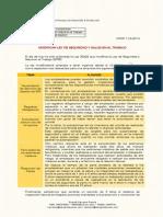 Modificatoria de la Ley de Seguridad y Salud en el Trabajo