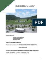 Comunidad Indigena La Laguna Primera Estacion de Campo de Sisoguichi (1)