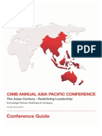 CIMB Annual Asia Pacific Conference Guide