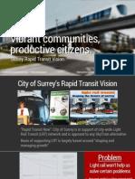 Vibrant Communities, Productive Citizens