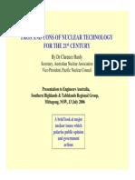 NuclearPower Pros&Cons EATalk 13Jul06