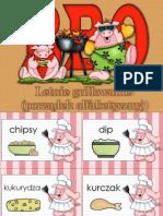 Letnie Grillowanie (Porządek Alfabetyczny)