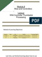 XNA Controller Thumbstick Processing