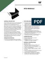 (Lehe0124-00) Rtd Module - Emcp 4