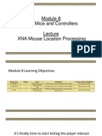 XNA Mouse Location Processing