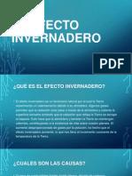 EL EFECTO INVERNADERO.pptx