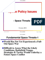 Space Policy Space Threats Unclassified