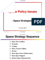 Space Policy Space Strategies Unclassified