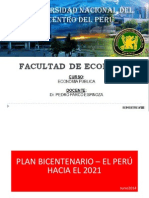 Plan Bicentenario Politicas