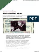 Die Ungleichheit wächst - taz.de