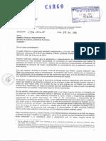 Oficio de Defensoría Sobre El Plan Nacional de DDHH 2014-2016