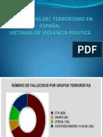 Las Victimas Del Terrorismo en España1