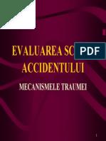 Evaluarea Scenei Accidentului