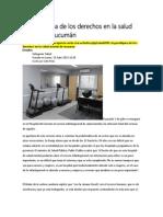 El Paradigma de Los Derechos en La Salud Mental de Tucumán