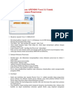 Cara Menggunakan APENDO Versi 3 (Penyedia).Docx