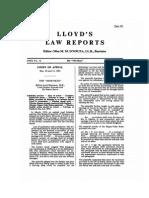 Lloyd's Law Reports the Morviken