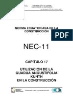 Nec2012-Cap.17-Utilización de La Guadua Angustifolia Kunth en La Construcción