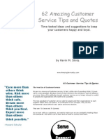 62 Customer Service Tips and Quotes Kevin Stirtz 140523212055 Phpapp01