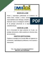Misión y Vision Perfil Petrolera 2014