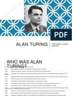 Alan Turing- Historical significance