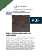 Los Origenes de Azcapotzalco