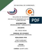 Manual de Usuario.